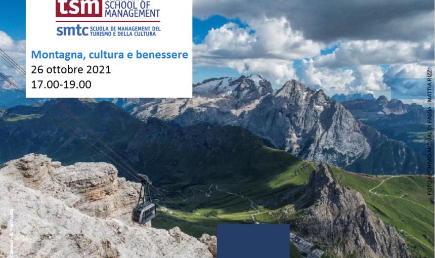 CULTURE TALKS 2021<br>Cultura per lo sviluppo sostenibile - Montagna, cultura e benessere8