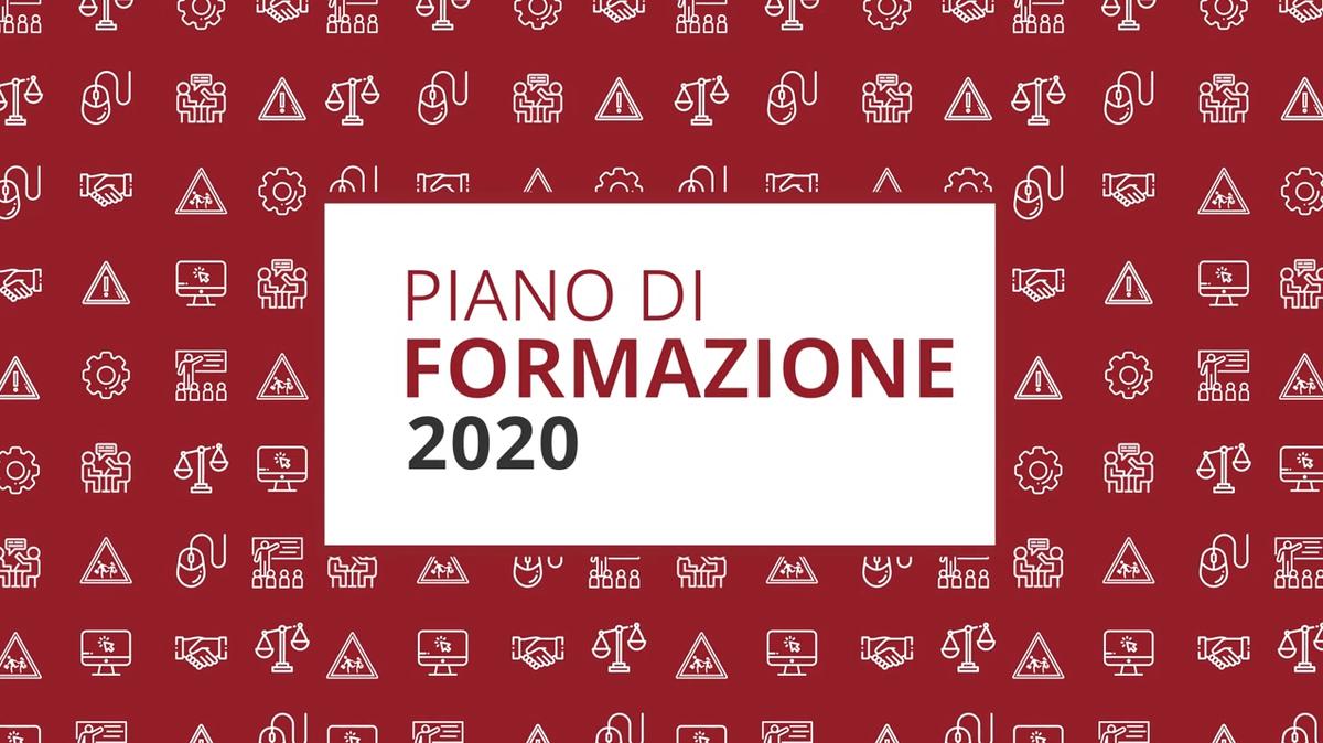 Piano di formazione 2020