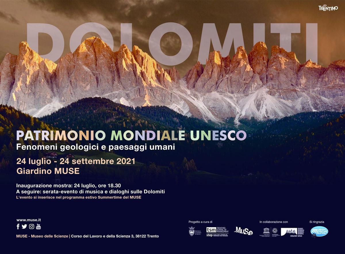 Inaugurazione mostra Dolomiti UNESCO. Fenomeni geologici e paesaggi umani
