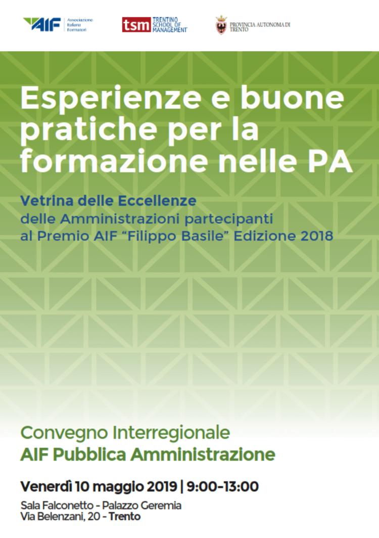 Esperienze e buone pratiche per la formazione nelle PA