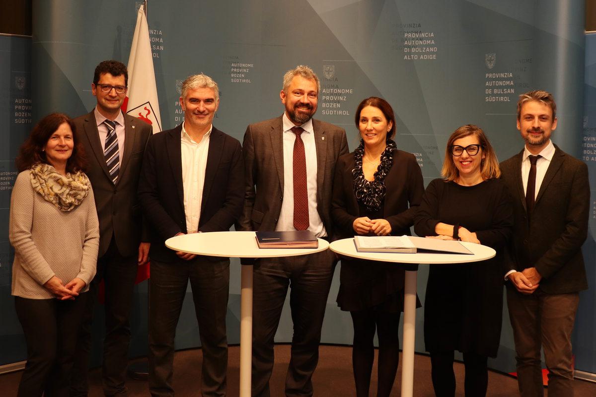 Bolzano e Trentino School of Management: siglato un protocollo nel settore della formazione professionale