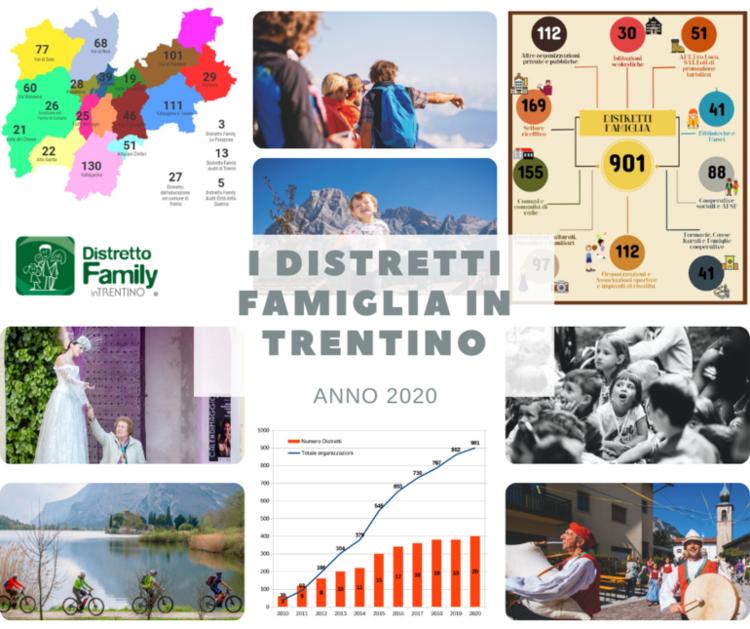 Online la Relazione 2020 dei Distretti famiglia