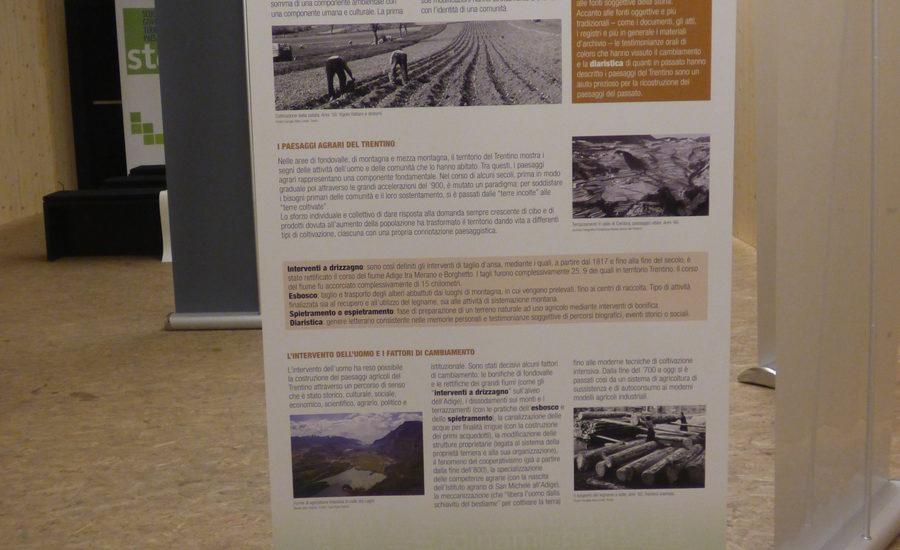 Mostra didattica itinerante Il paesaggio del Trentino