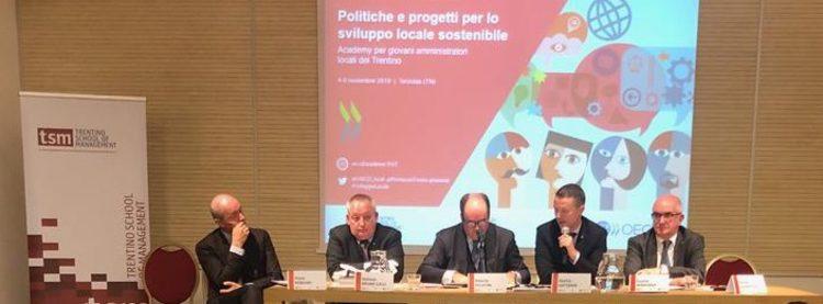 Academy amministratori locali - Terzolas: Fugatti, La formazione è indispensabile per la crescita dell'autonomia trentina