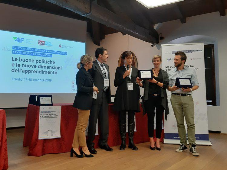 Apss vince il premio Basile per la formazione in ambito sanitario