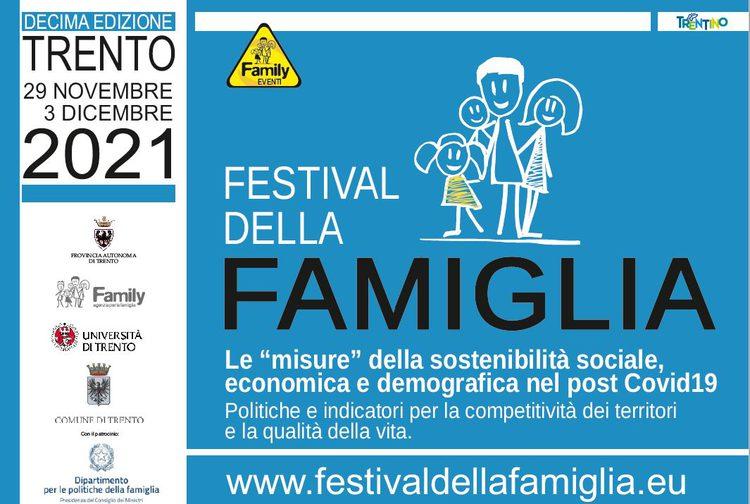 """Festival della famiglia 2021 - Le """"misure"""" della sostenibilità sociale, economica e demografica nel post Covid19.7"""