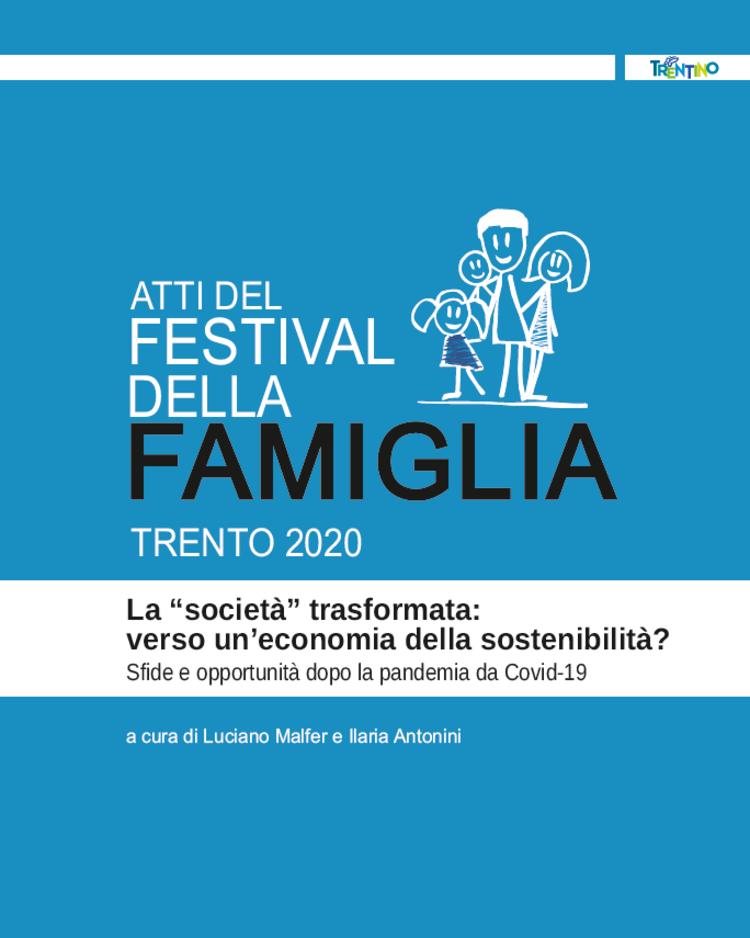 Online gli Atti del festival della Famiglia 20207