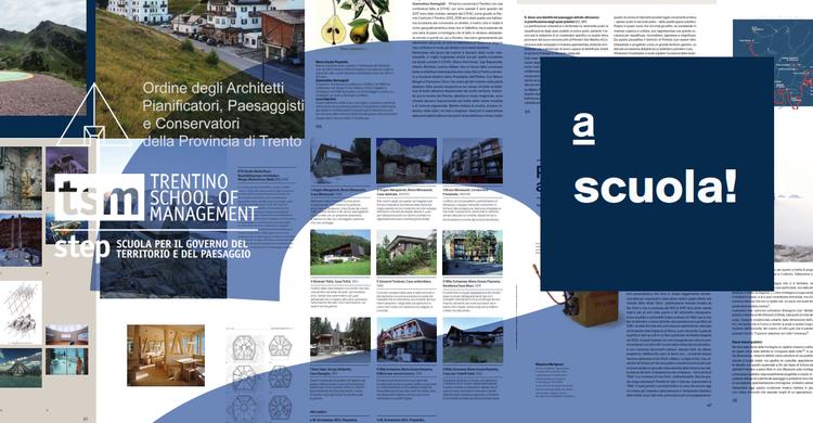 """""""a"""": la rivista dell'ordine degli architetti entra a scuola con il progetto costruire paesaggi7"""