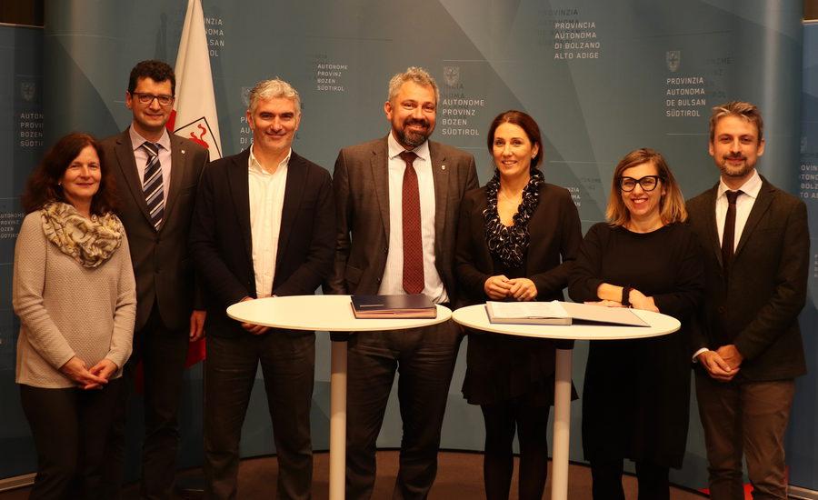 Bolzano e Trentino School of Management: siglato il protocollo