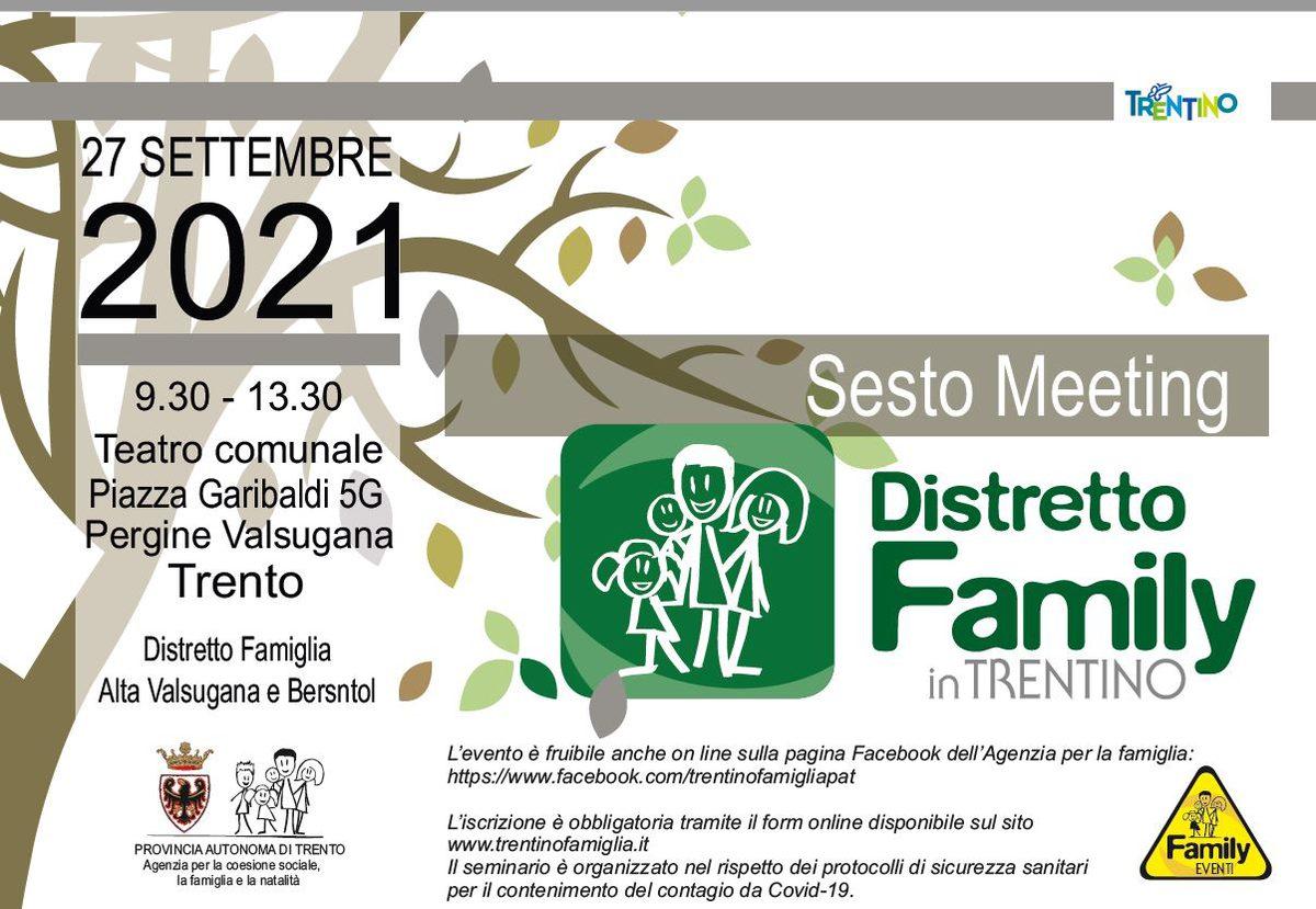 CTF - Sesto Meeting Distretti family in Trentino
