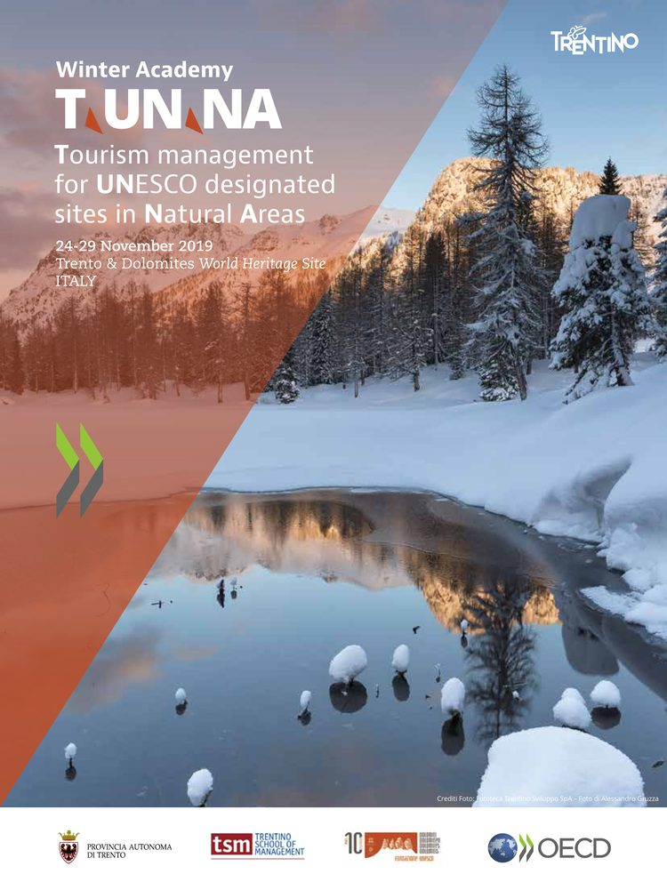Winter Academy TUNNA-Tourism management for UNESCO designed sites in natural areas