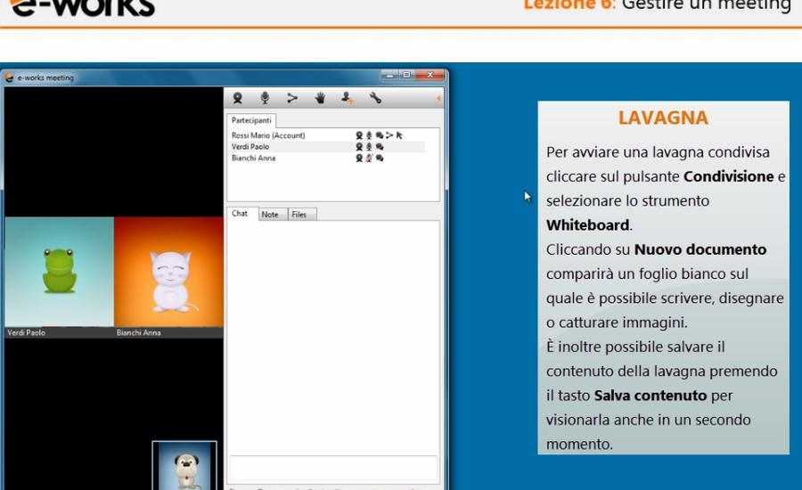 lezioni e-works