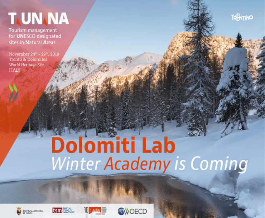 Winter Academy T.UN.NA-Tourism management for UNESCO designed sites in natural areas