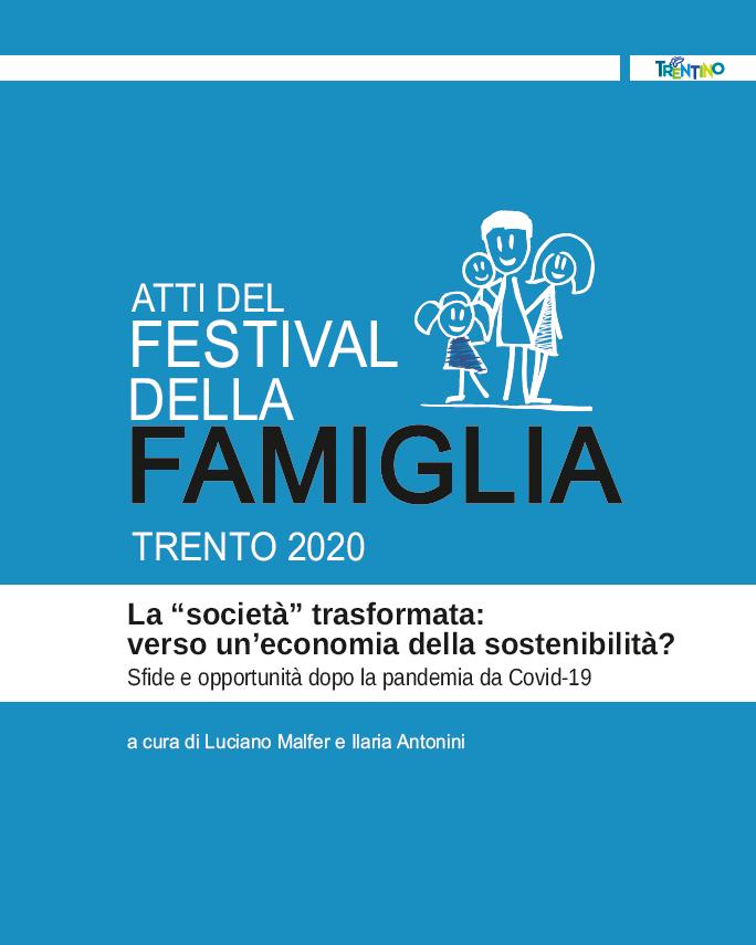 Online gli Atti del festival della Famiglia 2020