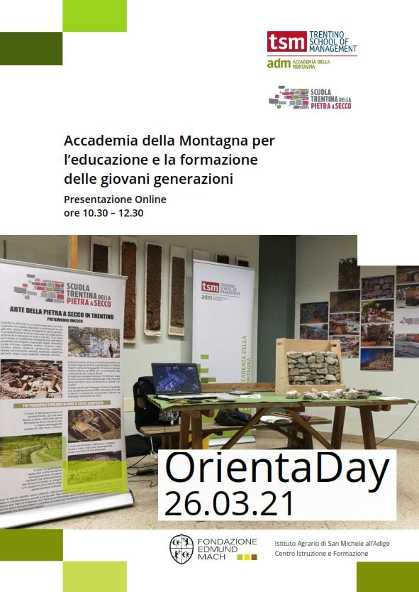 Orienta day: educazione e la formazione delle giovani generazioni